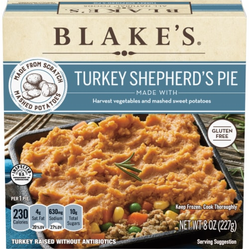 Blake's Turkey Shepherd's Pie Frozen Meal Perspective: front
