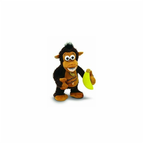Jobar JB7224 12 x 8.25 x 5 in. Raging Monkey Plush Toy Perspective: front
