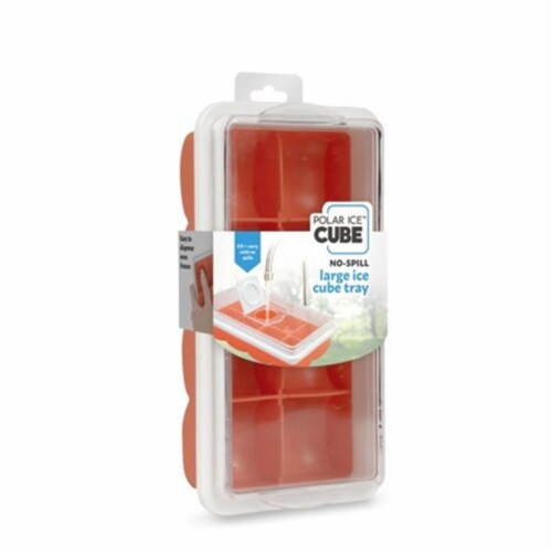 Jobar JB8237CIT Handy Gourment Dual Color Large Ice Cube Tray Perspective: front