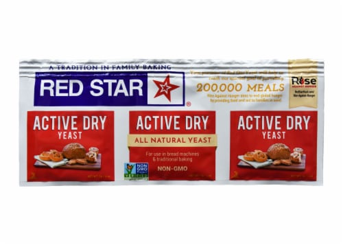 Red Star Active Dry Yeast Perspective: front