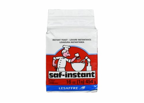 SAF Instant Yeast Perspective: front