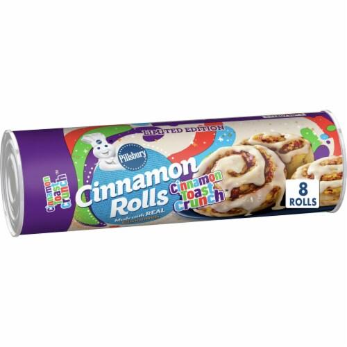Pillsbury Cinnamon Toast Crunch Cinnamon Rolls Perspective: front