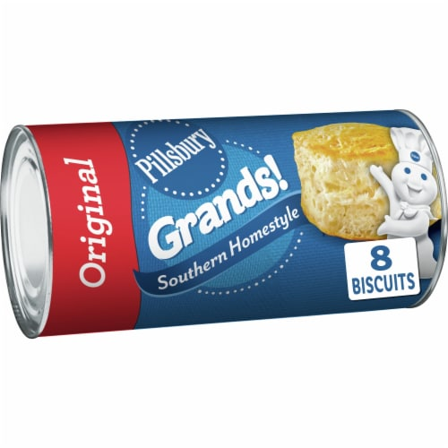 Pillsbury Grands! Original Southern Homestyle Biscuits Perspective: front
