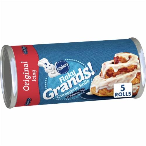 Pillsbury Flaky Grands! Cinnamon Rolls Perspective: front