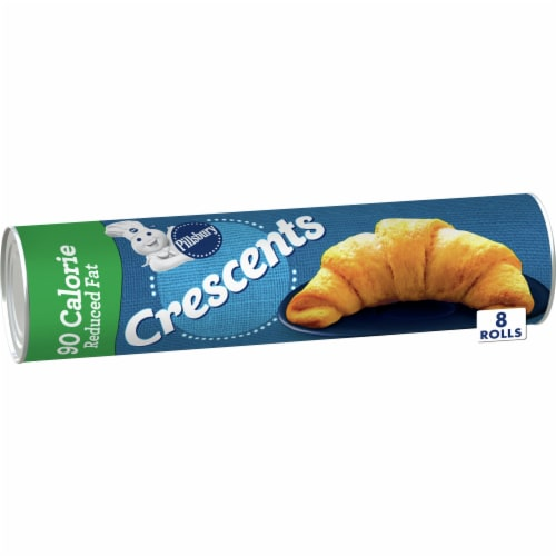 Pillsbury 90 Calorie Reduced Fat Crescent Rolls Perspective: front