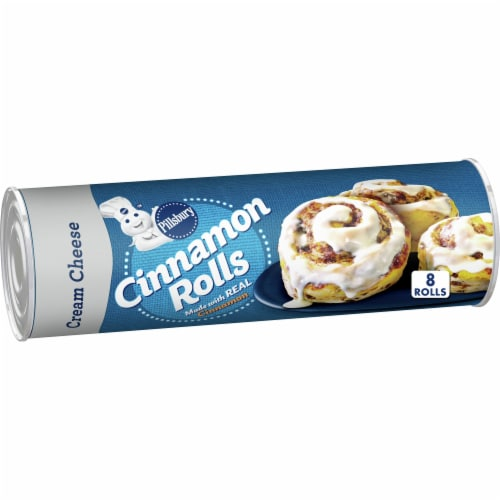 Pillsbury Cinnamon Rolls with Cream Cheese Icing Perspective: front