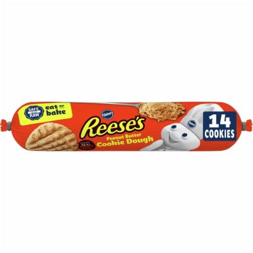 Pillsbury Peanut Butter Cookie Dough Perspective: front