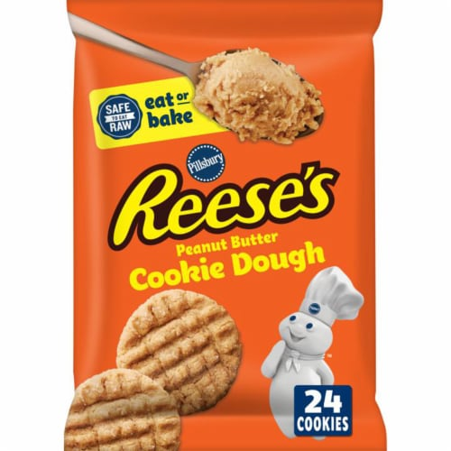 Pillsbury Reese's Peanut Butter Cookie Dough Perspective: front