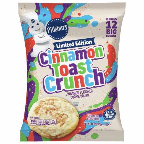 Pillsbury Cinnamon Toast Crunch Cookie Dough Perspective: front