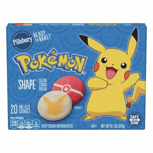 Pillsbury Ready to Bake! Pokemon Shape Sugar Cookie Dough Perspective: front