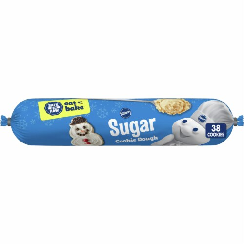 Pillsbury Sugar Cookie Dough Perspective: front