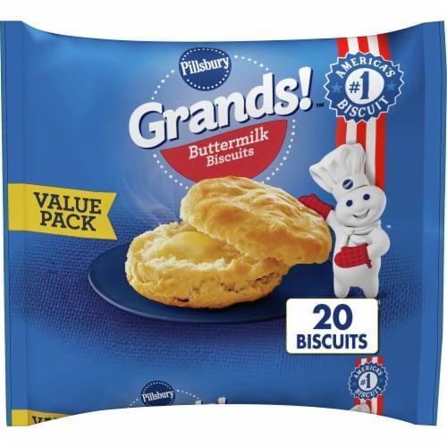 Pillsbury Grands! Frozen Buttermilk Biscuits Perspective: front