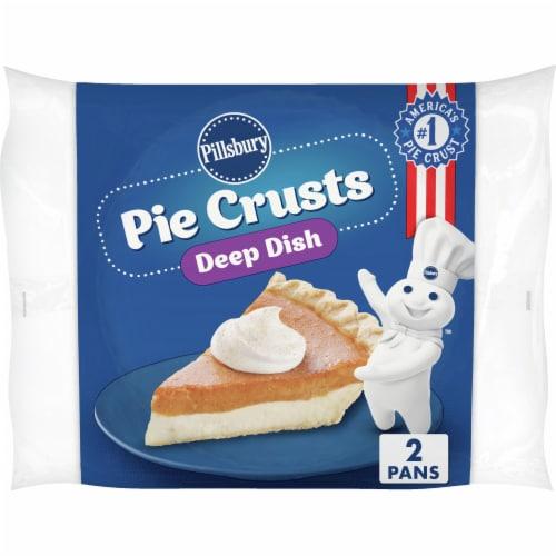 Pillsbury Deep Dish Frozen Pie Crusts Perspective: front