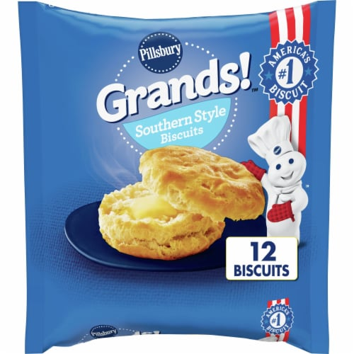 Pillsbury Grands! Frozen Southern Style Biscuits Perspective: front