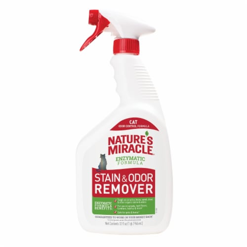 Nature's Miracle Cat Stain & Odor Remover Perspective: front