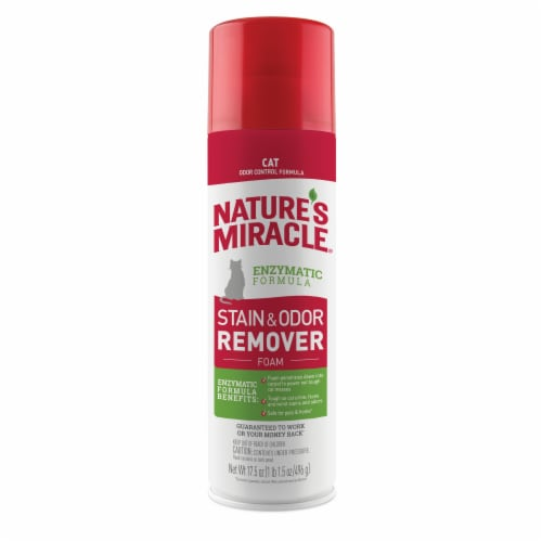 Nature's Miracle Foam Stain & Odor Remover Perspective: front