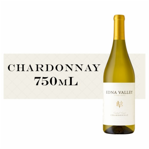 Edna Valley Vineyard Chardonnay White Wine Perspective: front