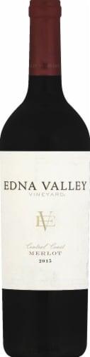 Edna Valley Vineyard Merlot Red Wine Perspective: front