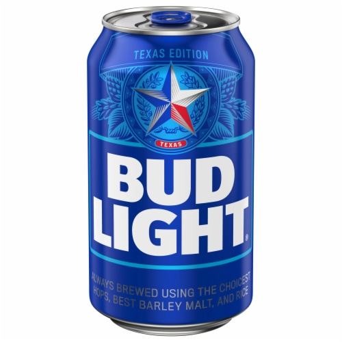 Bud Light Lager Beer Perspective: front