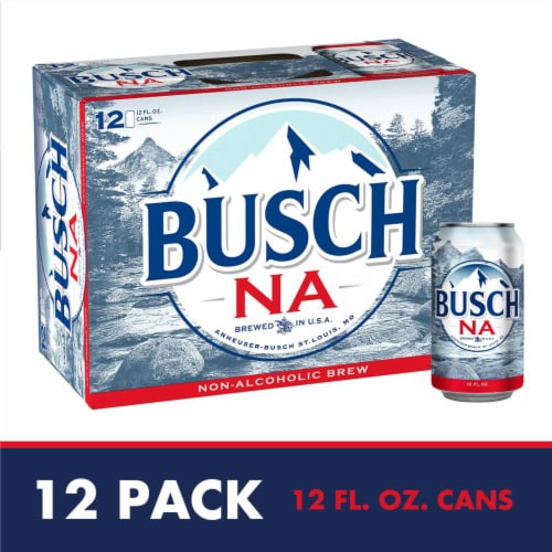 Busch Non-Alcoholic Beer Perspective: front