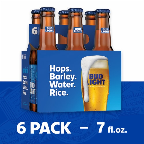 Bud Light Minis Lager Beer Perspective: front
