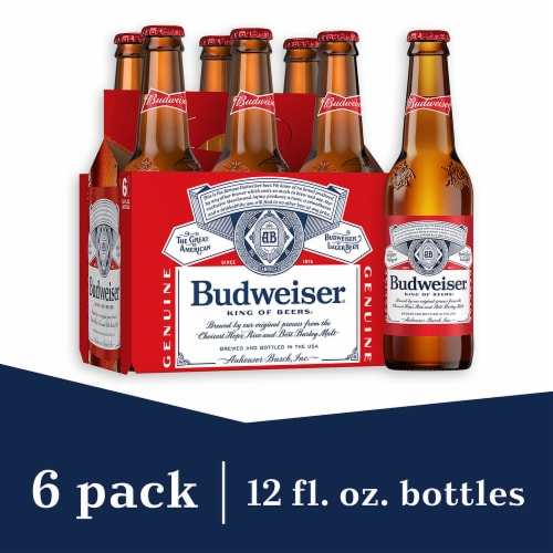 Budweiser® Lager Beer Perspective: front