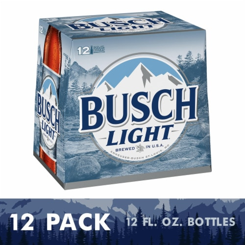 Busch Light® Lager Beer Perspective: front