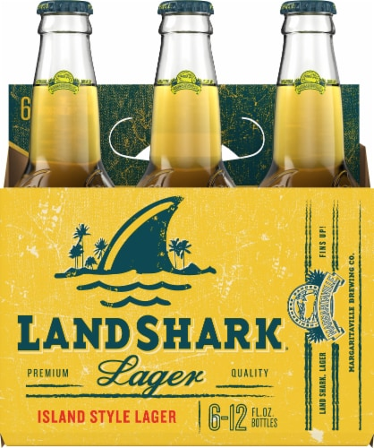 LandShark Island Style Lager 6 Count Perspective: front