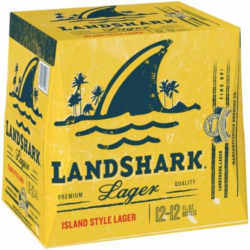 LandShark Lager 12 Pack Perspective: front