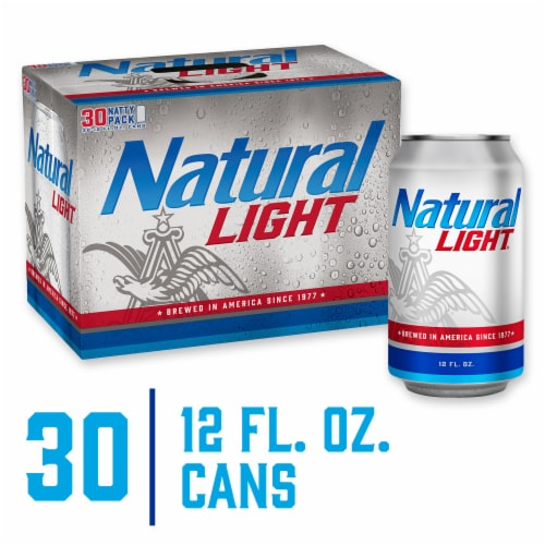 Natural Light Natty Pack Beer Perspective: front