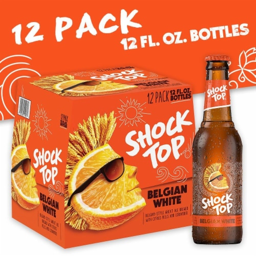 Shock Top Belgian White Ale Perspective: front