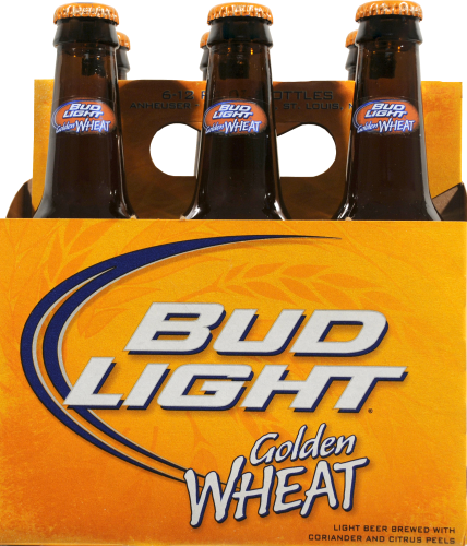 Bud Light Golden Wheat Perspective: Front