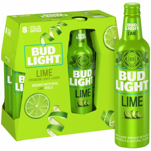 Bud Light Lime Premium Light Lager Perspective: front