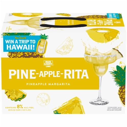 Bud Light Lime Pine-Apple-Rita Seasonal Perspective: front