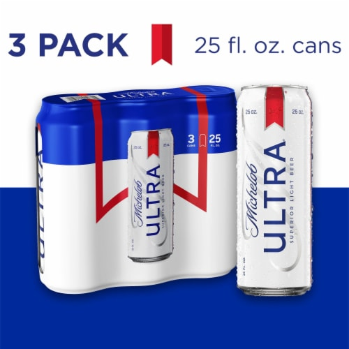Michelob Ultra Light Beer Perspective: front