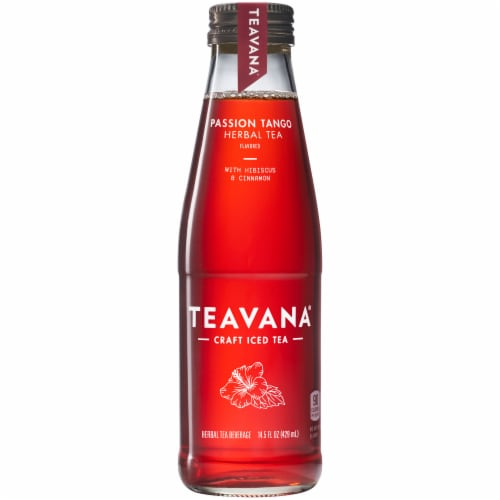 Teavana Passion Tango Herbal Iced Tea Perspective: front