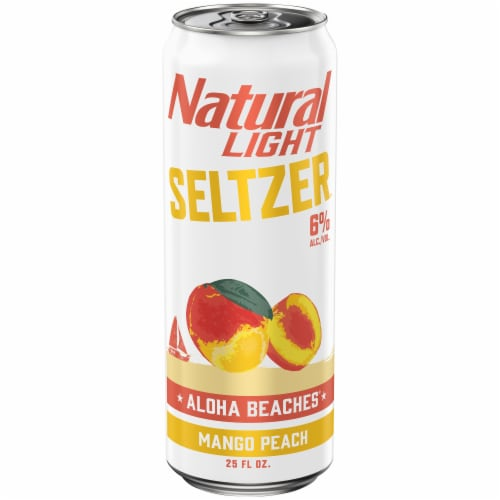 Natural Light Aloha Beaches Spiked Seltzer Perspective: front