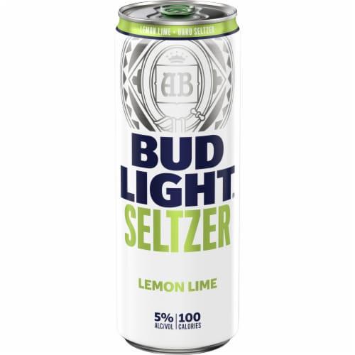 Bud Light Seltzer Lemon Lime Perspective: front