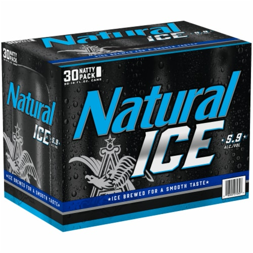 Natural Ice Beer Perspective: front