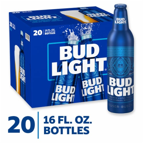 Bud Light® Lager Beer Perspective: front