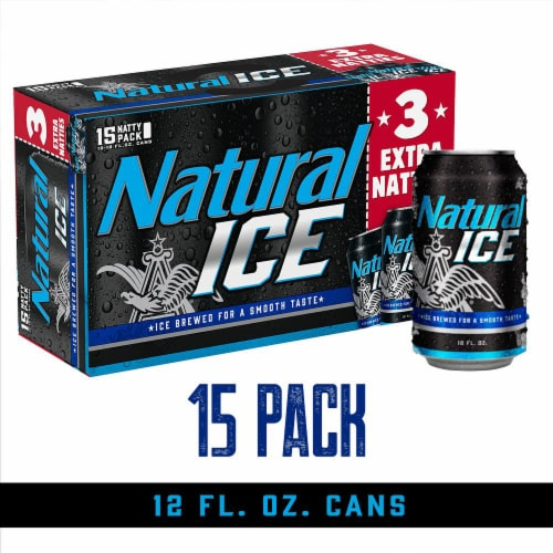Natural Ice Natty Pack Beer Perspective: front