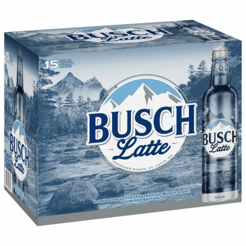 Busch Light Beer Perspective: front
