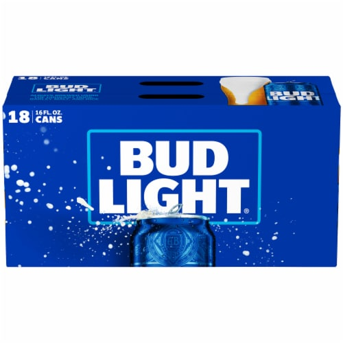 Bud Light Beer 18 Pack Perspective: front