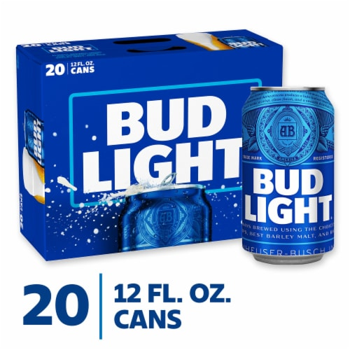Bud Light Beer Perspective: front