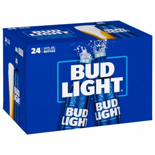 Bud Light Reclosable Aluminum Bottles Perspective: front