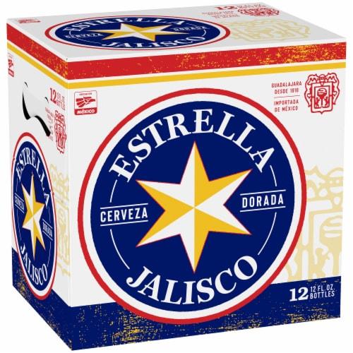 Estrella Jalisco Beer Perspective: front