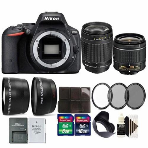 Nikon D5300 24.2 Megapixel Dx-format Digital Slr Camera Body - Black Friday Deal Perspective: front