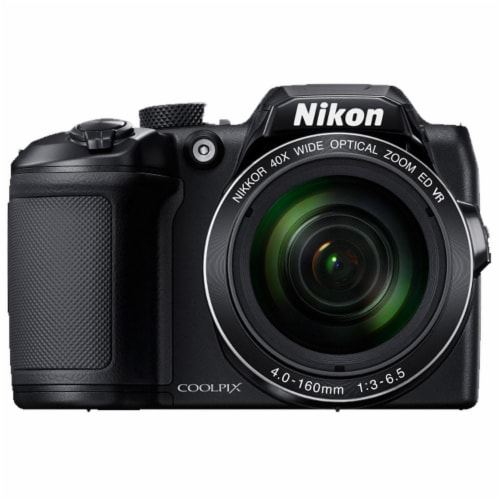 Nikon CoolPix B500 16MP Smart Digital Camera with 40x Optical Zoom Perspective: front