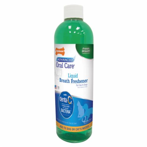 Nylabone Advanced Oral Care Liquid Breath Freshener Perspective: front