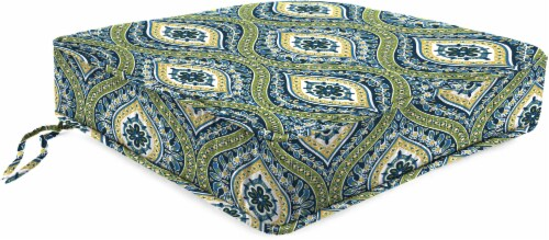 Jordan Manufacturing Deep Seat Chair Cushion - Jasmina Summer Perspective: front
